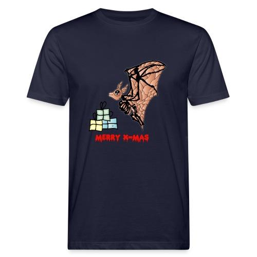 Merry X-MAS - Männer Bio-T-Shirt