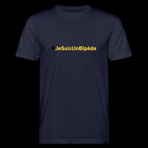 #JeSuisUnBipede_01 - T-shirt bio Homme