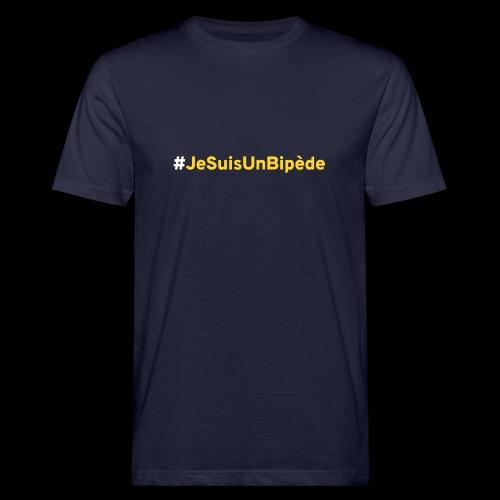 JeSuisUnBipede02 - T-shirt bio Homme