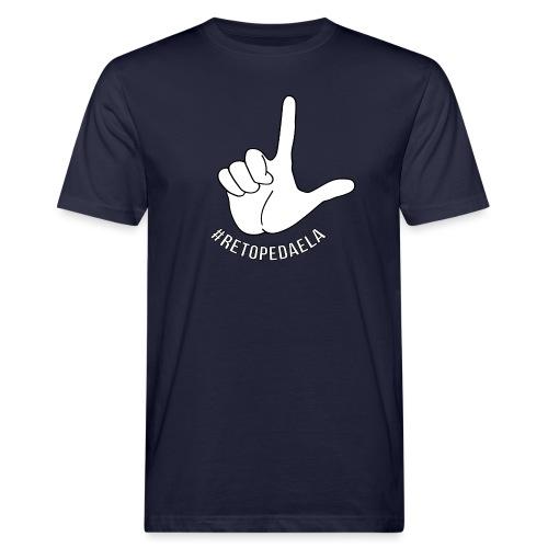 Dedo Big - #RetoPedaEla - Camiseta ecológica hombre