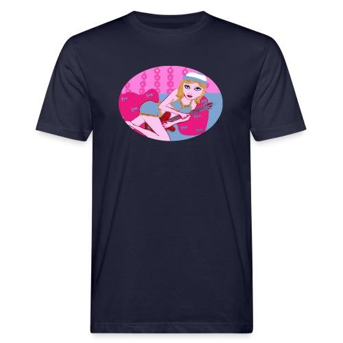 Guitar girl - Männer Bio-T-Shirt