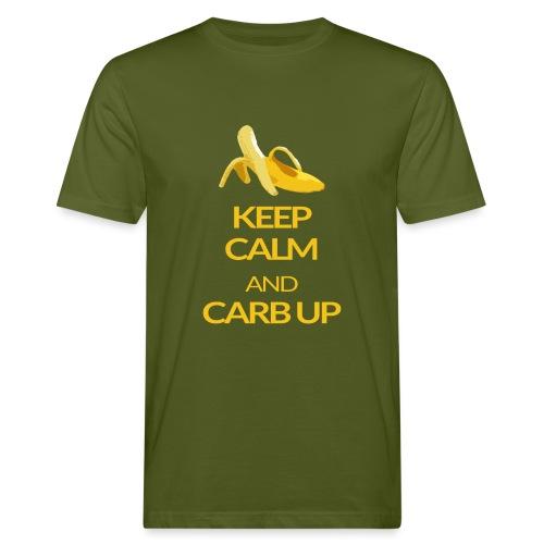 KEEP CALM and CARB UP - Männer Bio-T-Shirt