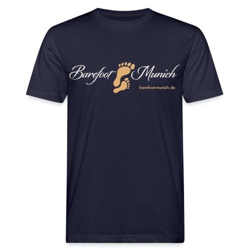 barefoot munich - Männer Bio-T-Shirt