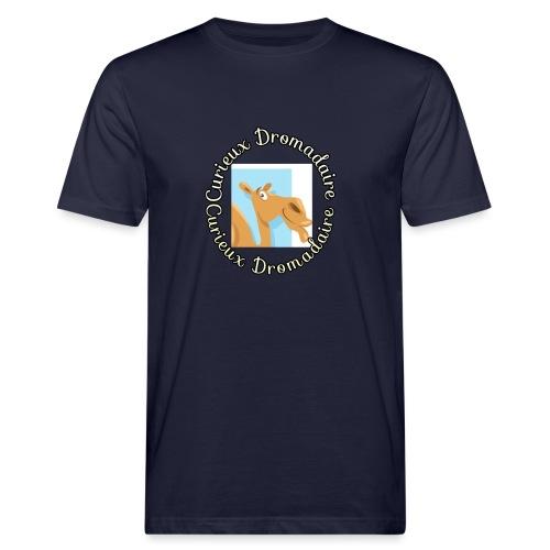 curieux dromadaire - T-shirt bio Homme