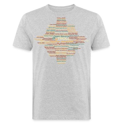 Pytroll wordcloud march 2019 - Men's Organic T-Shirt