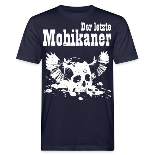Der letzte Mohikaner - Männer Bio-T-Shirt