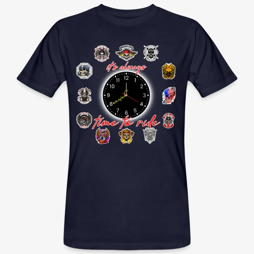 It's always time to ride - Collection - T-shirt ecologica da uomo