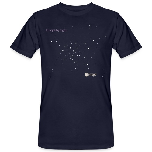Europe by night - Männer Bio-T-Shirt