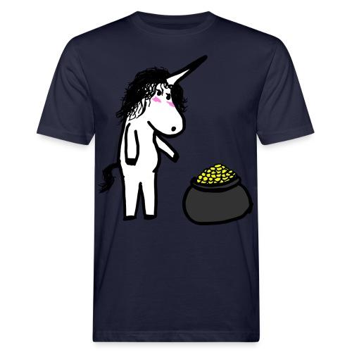 Oro unicorno - T-shirt ecologica da uomo