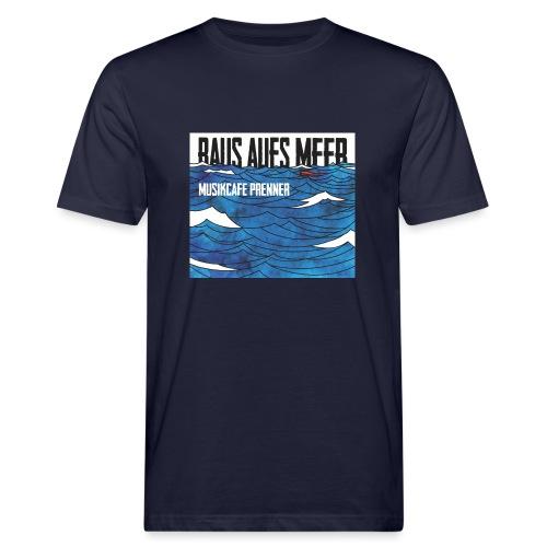 Raus aufs Meer quadratisch - Männer Bio-T-Shirt