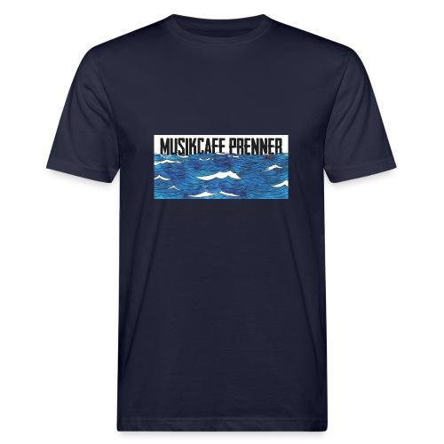 Musikcafe Prenner Schriftzug - Männer Bio-T-Shirt