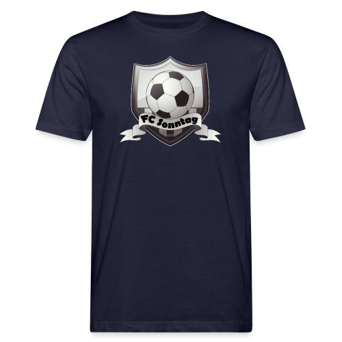 FC Sonntag Logo - Männer Bio-T-Shirt