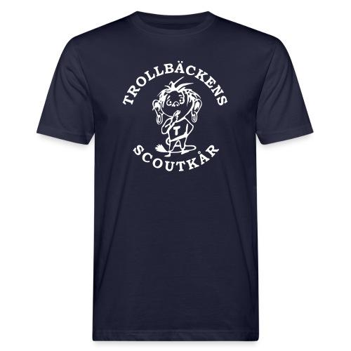 Trollbäckens Scoutkår - Ekologisk T-shirt herr