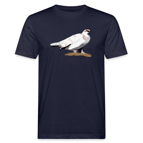 Alpenschneehuhn - Männer Bio-T-Shirt