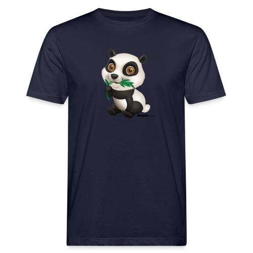 Panda - Männer Bio-T-Shirt