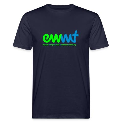 EWWT Logo - Männer Bio-T-Shirt