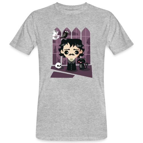 A damned Poe-t's house - T-shirt ecologica da uomo