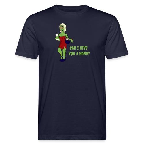 give a hand - Men's Organic T-Shirt