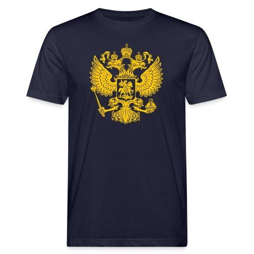 Russia Adler GOLD - Männer Bio-T-Shirt
