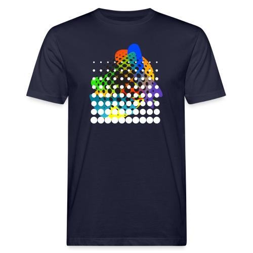 Muster 096 - Männer Bio-T-Shirt