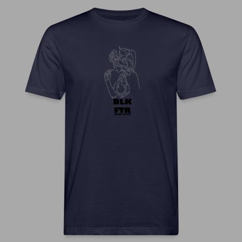 BLK FTR N°6 - T-shirt ecologica da uomo