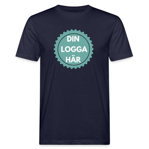 Egen Logga - Ekologisk T-shirt herr