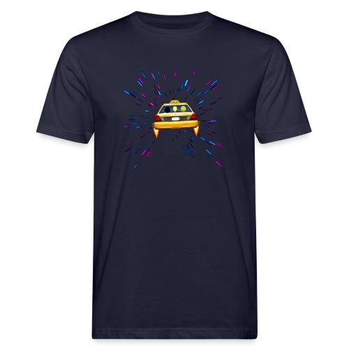 Taxi in Space - Männer Bio-T-Shirt