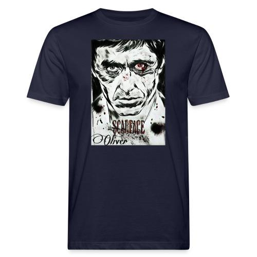 Portrait unique scarface - T-shirt bio Homme