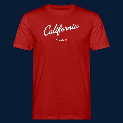 California - Männer Bio-T-Shirt