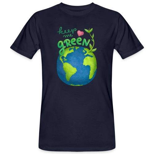 Keep Me Green - Männer Bio-T-Shirt