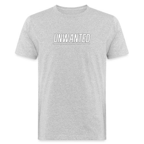 UNWANTED Logo Tee White - Men's Organic T-Shirt