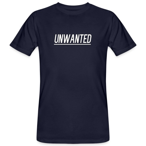 UNWANTED Logo Tee White - Men's Organic T-Shirt