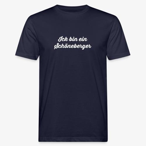 Ick bin ein Schöneberger - Männer Bio-T-Shirt