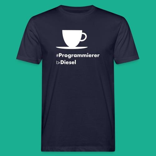 Kaffediesel - Männer Bio-T-Shirt