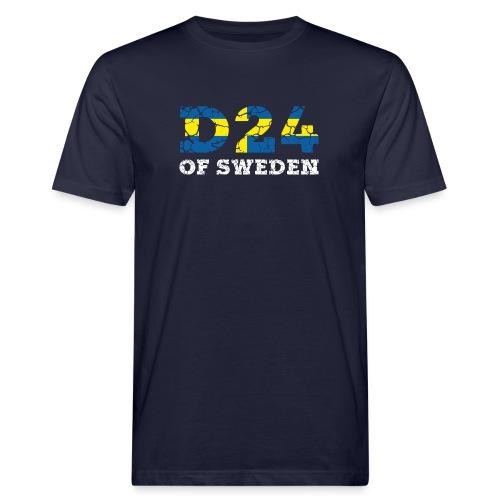 D24OFSWEDEN - Ekologisk T-shirt herr