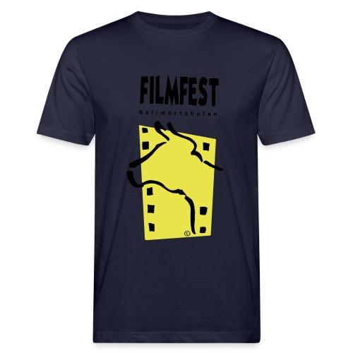 Filmfest Logo - Männer Bio-T-Shirt