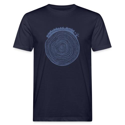 Kattoo Blau - Männer Bio-T-Shirt
