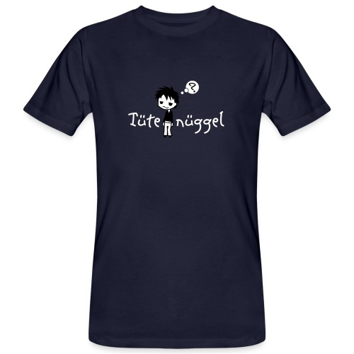 Tütenüggel (Kölsch, Karneval, Köln) - Männer Bio-T-Shirt