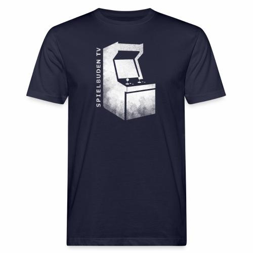 ENDLOGO sprenkelig Logo schrift png - Männer Bio-T-Shirt