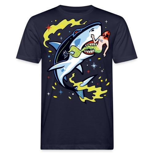 Requin mangeur de sirène - T-shirt bio Homme