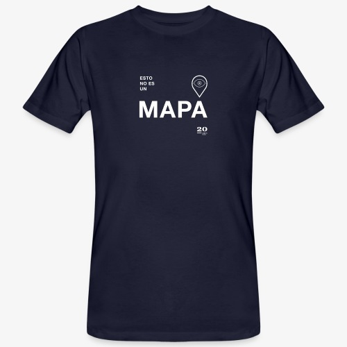 mapa - Camiseta ecológica hombre