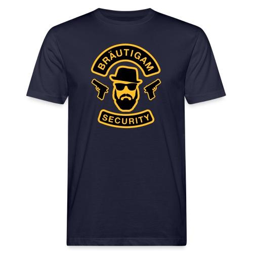 Bräutigam Security - JGA T-Shirt - Bräutigam Shirt - Männer Bio-T-Shirt