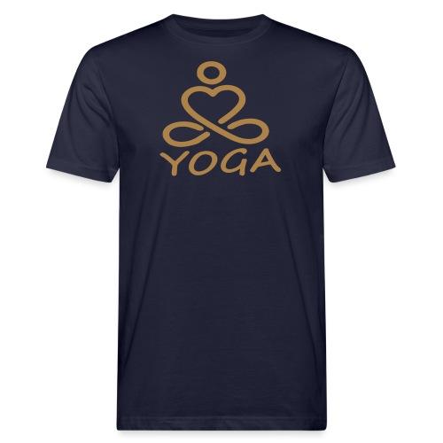 1216yogapadmasana - T-shirt bio Homme