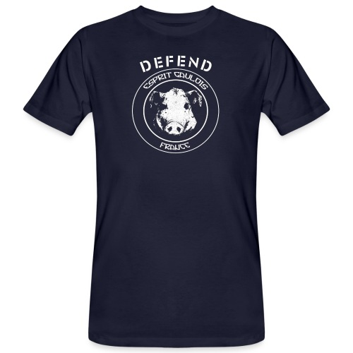 defend gaulois 1 - T-shirt bio Homme