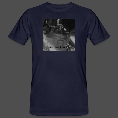 2stroke cylinder - Ekologiczna koszulka męska