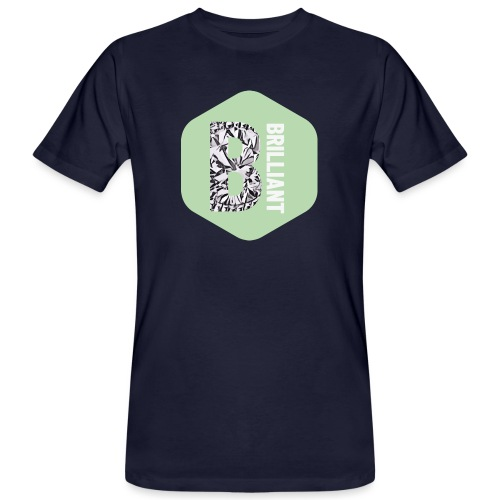 B brilliant green - Mannen Bio-T-shirt