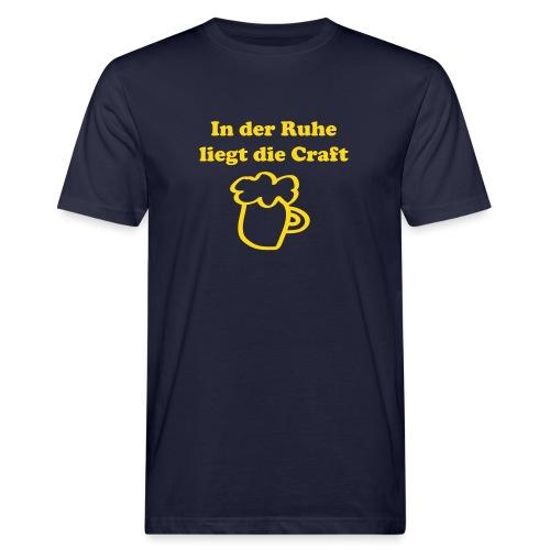 Craftbeer - Männer Bio-T-Shirt