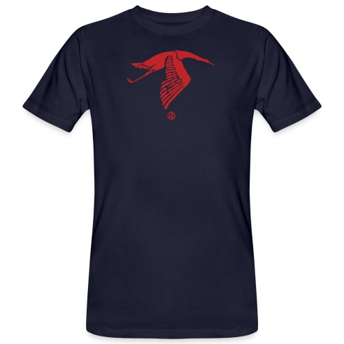Cigogne du Guynemer - T-shirt bio Homme