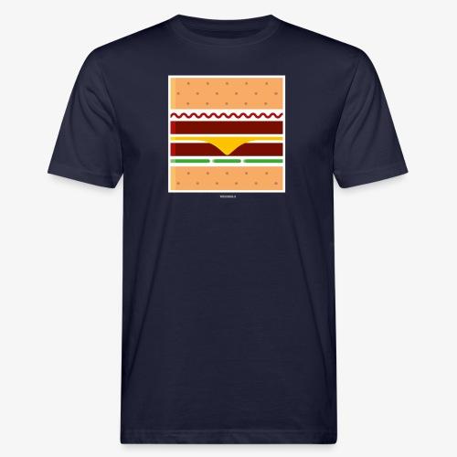 Square Burger - T-shirt ecologica da uomo