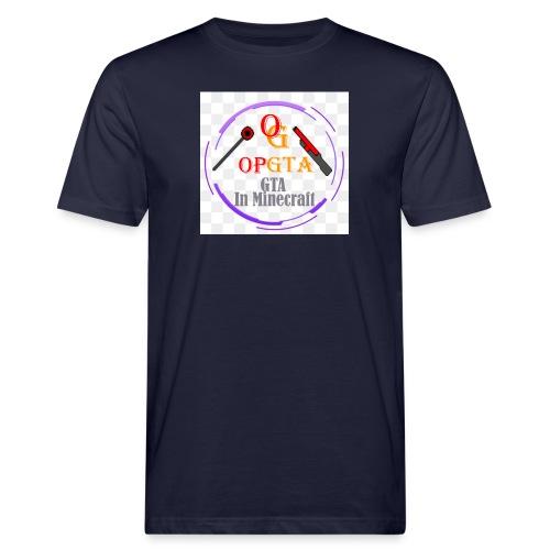 opgta logo - Miesten luonnonmukainen t-paita